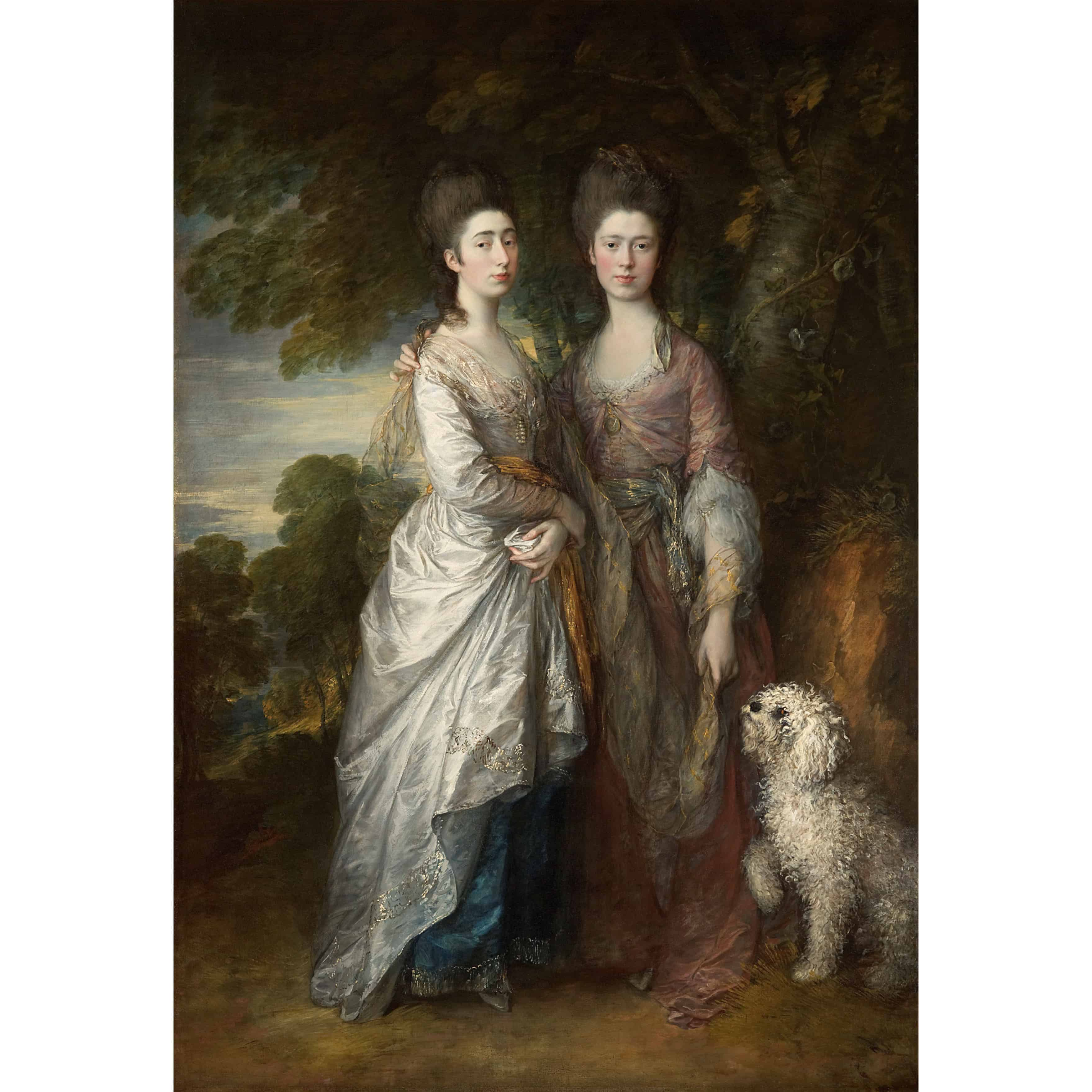 Family portraits by iconic British artist Thomas Gainsborough anticipate modern ideas Of family
