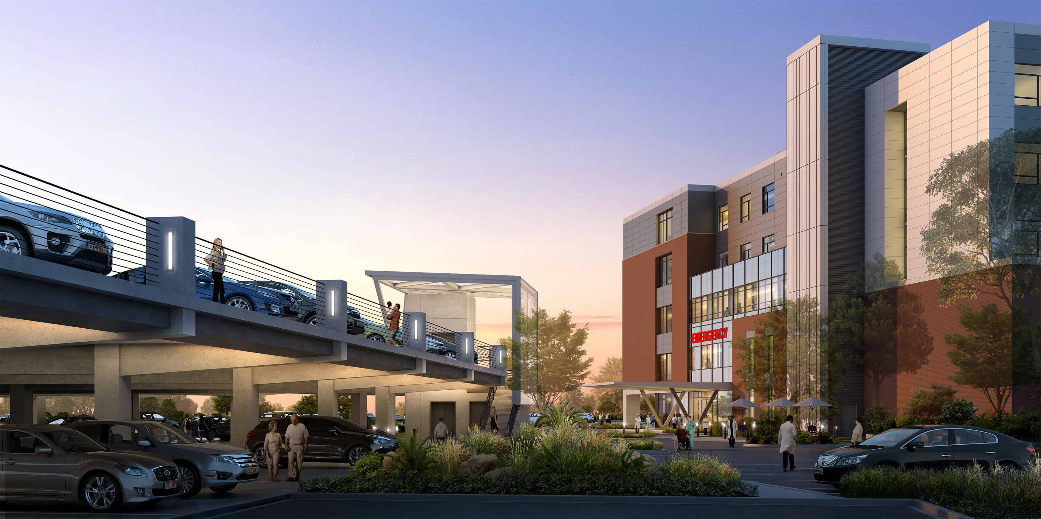 DesignGroup announces state-of-the-art 172,000-square-foot addition for Norton Brownsboro Hospital in Louisville, Kentucky