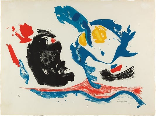 Exhibition celebrates five decades of Helen Frankenthaler's innovation in printmaking